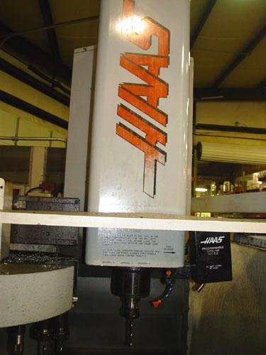 """HAAS VF-4, Haas CNC Control, X=50"""", Y=20"""", Z=25"""", 7500 RPM, 20 ATC, 1997."""