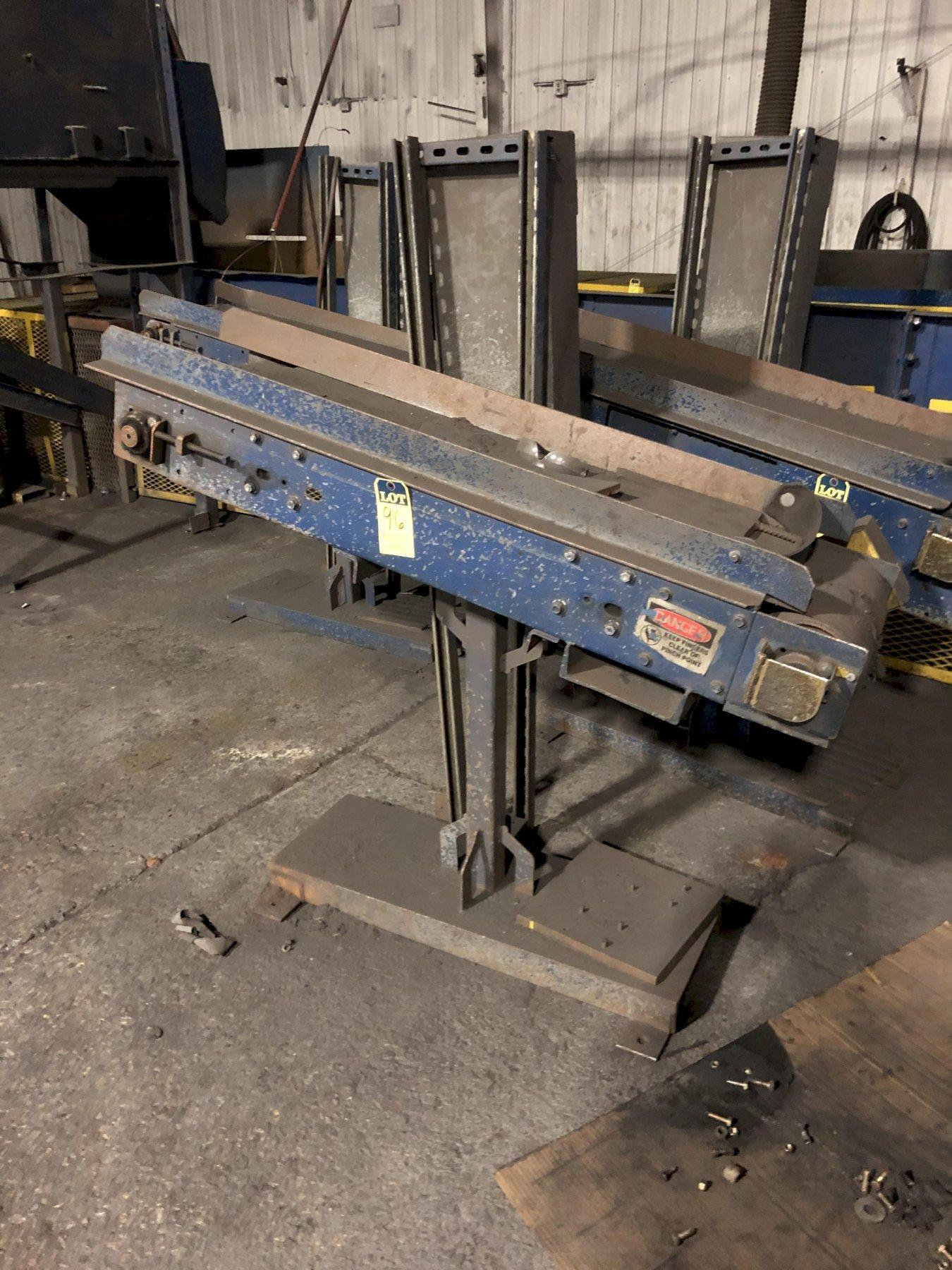 "12"" X APPROX. 4' BELT CONVEYOR WITH DRIVE"