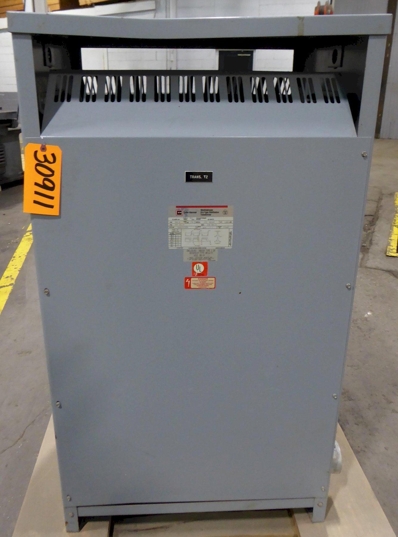 300 KVA CUTLER HAMMER, 480/240, 3 Phase