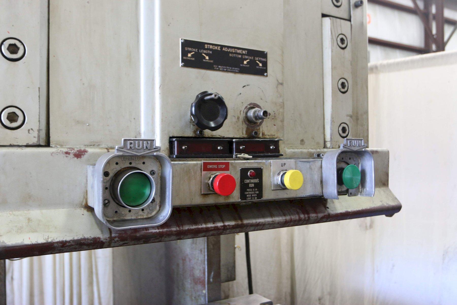 150 Ton Pacific C-Frame Hydraulic Press Model 150PF-OBS