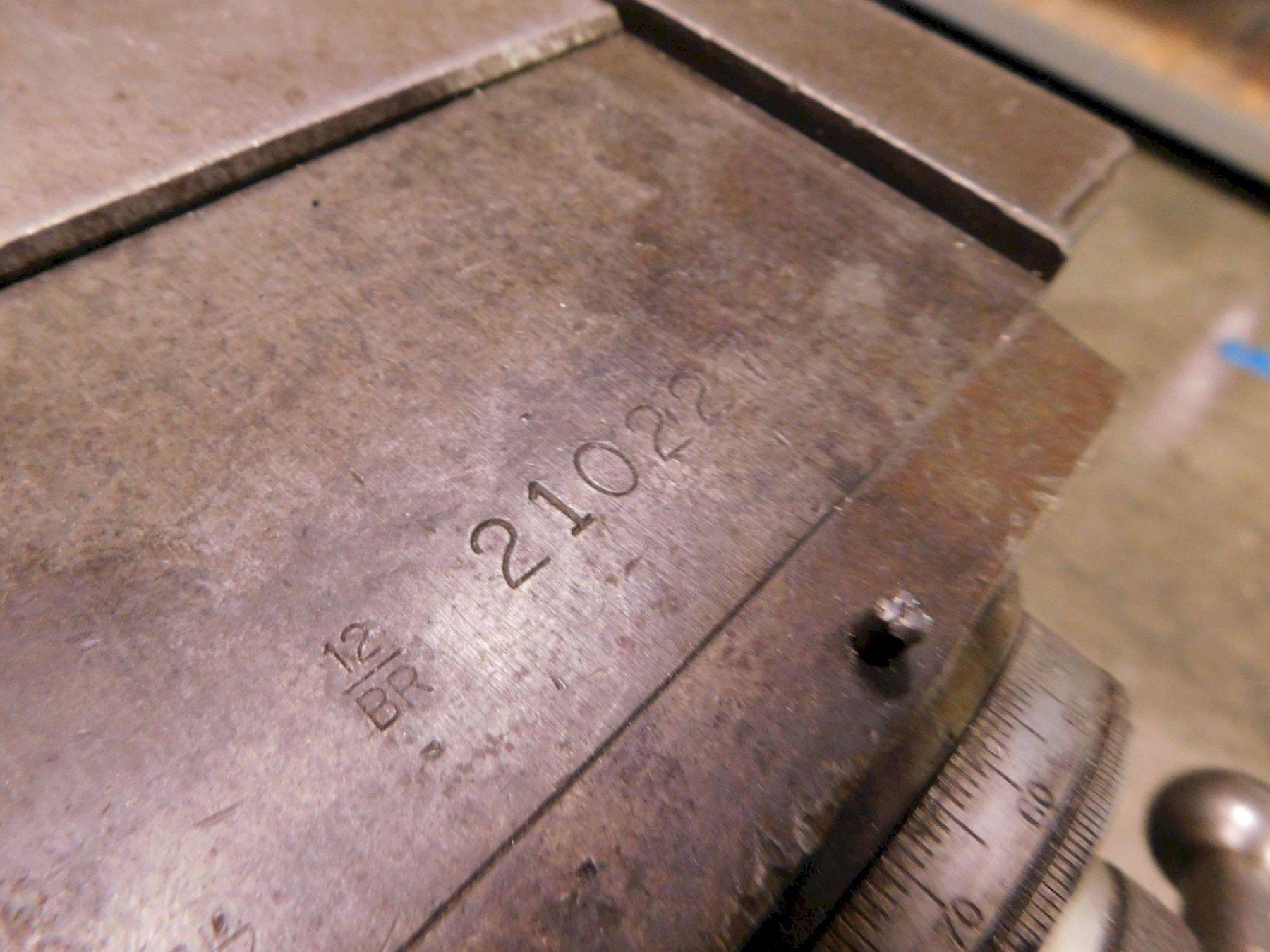 """BRIDGEPORT SERIES 1 VERTICAL KNEE MILL, 2-Axis Acu-Rite II DRO, 9"""" x 42"""" Table, Bridgeport Power Table Feed, 2 HP Motor, 700-4200 RPM, New 1980."""
