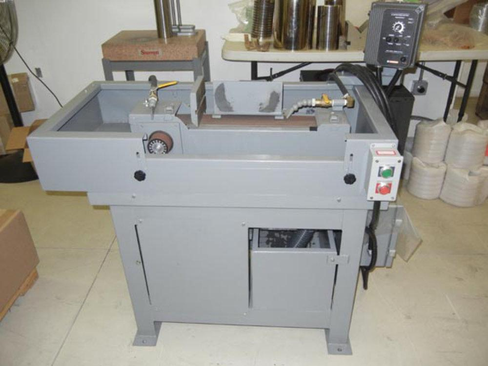 "USED KALAMAZOO INDUSTRIES COMBINATION HORIZONTAL BELT/SPINDLE SANDER (W1436), Model S460HW-3, 4"" x 60"", Stock No. 10435"