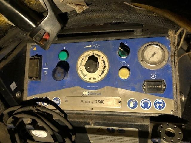 Cold Jet Dry Ice Blasting Setup w/ Aero DX 80, After Cooler & Accessories