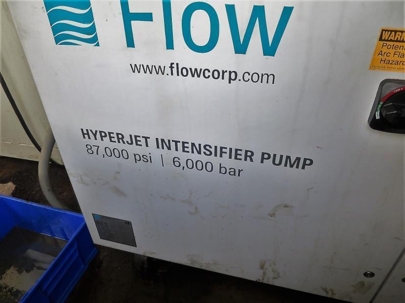 2008 Flow Mach3 4020B, 6x12, 87,000 PSI Waterjet