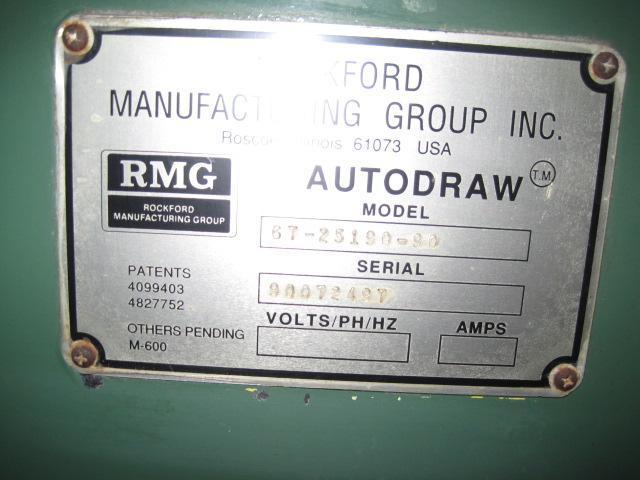 "3/8""  RMG 67 25190-90 Wire Drawer"
