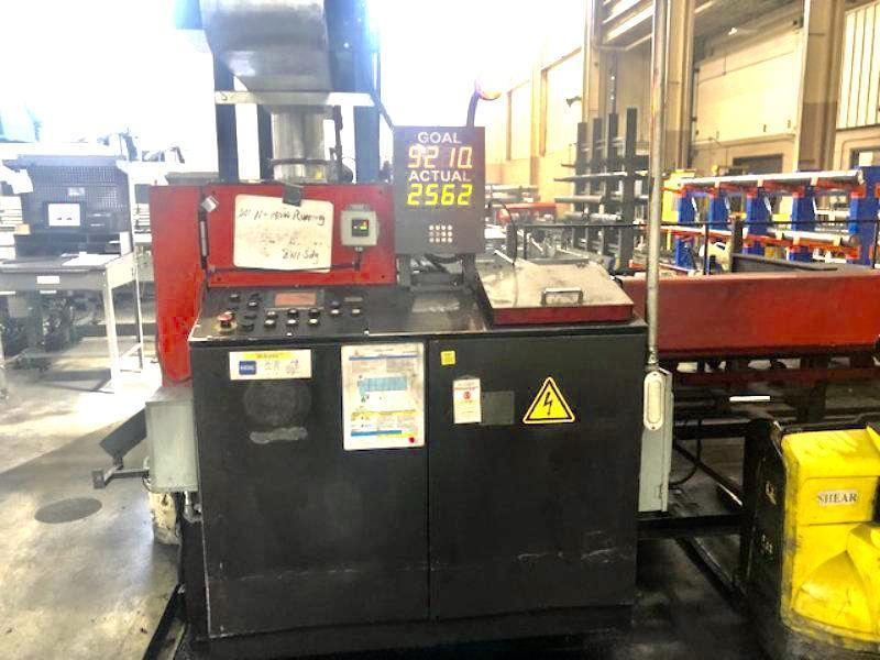 "Used AMADA FULLY AUTOMATIC CARBIDE CIRCULAR SAW , Model CM75, 2.95"" Year 2005"