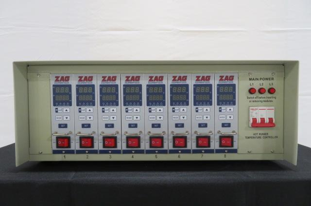 ZAG Equipment New ZAG-TC-S03B1-08-15 Hot Runner Controller, Yr. 2020, 8 zone, 240V