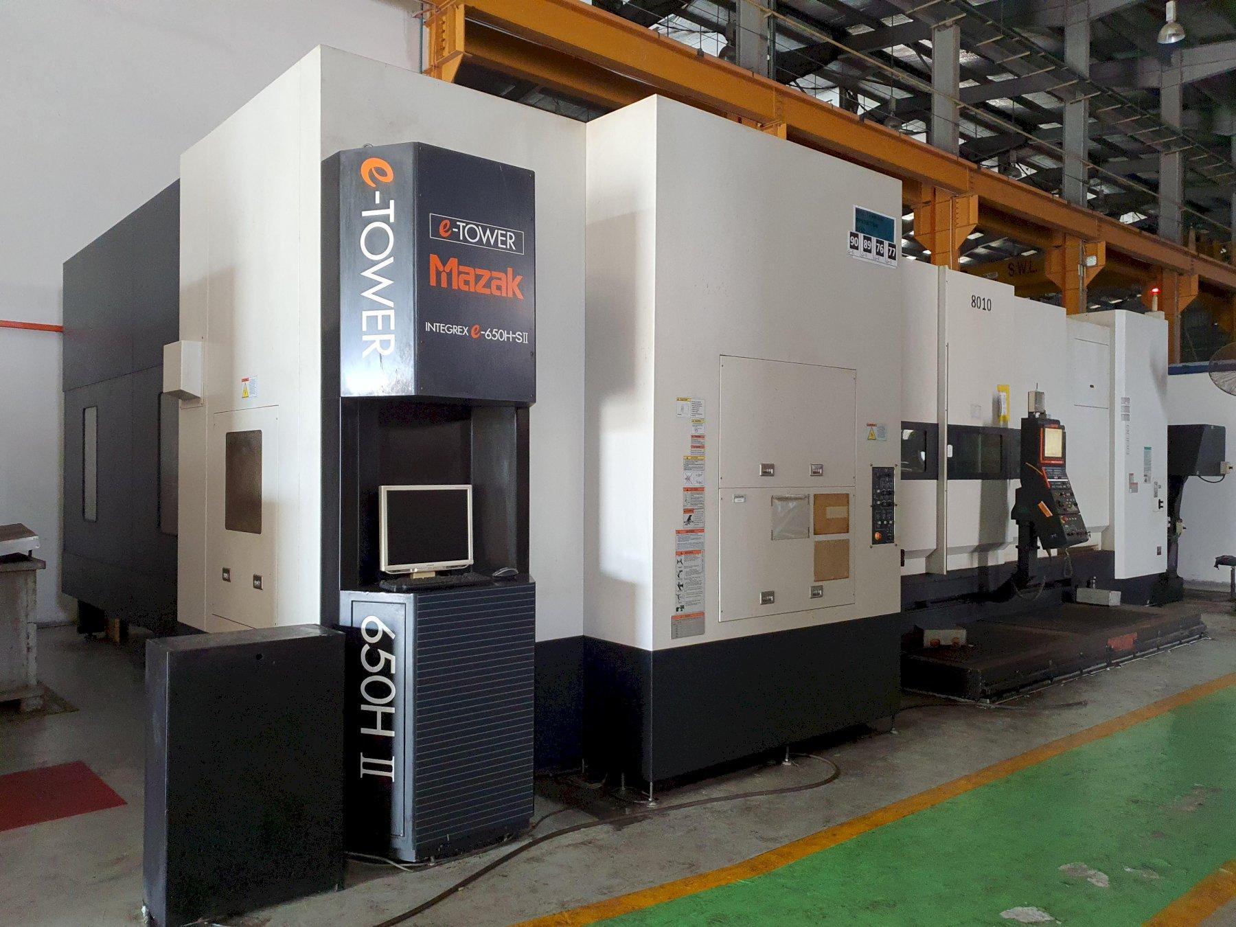Mazak Integrex e650H-S/3000 II CNC Mill/Turn Horizontal Lathe (2011)