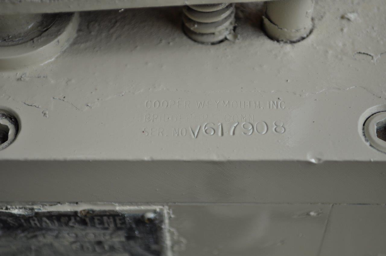 "6"" x .062"" CWP 17 Roll Straightener"