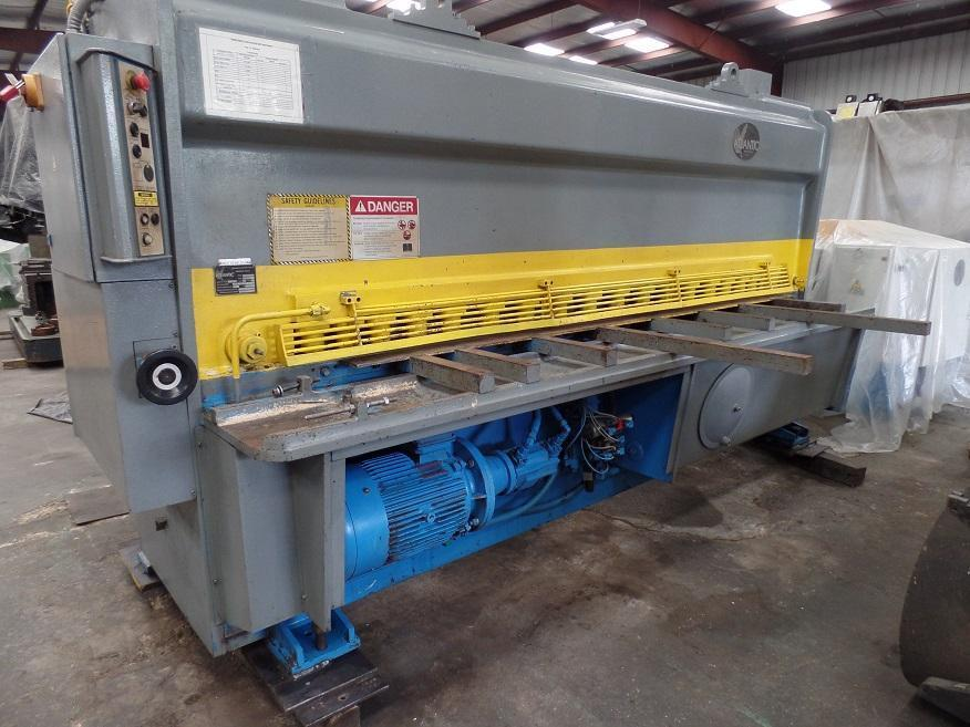 "10' x 1/2"" HACO ATLANTIC HDS HYDRAULIC POWER SQUARING SHEAR"