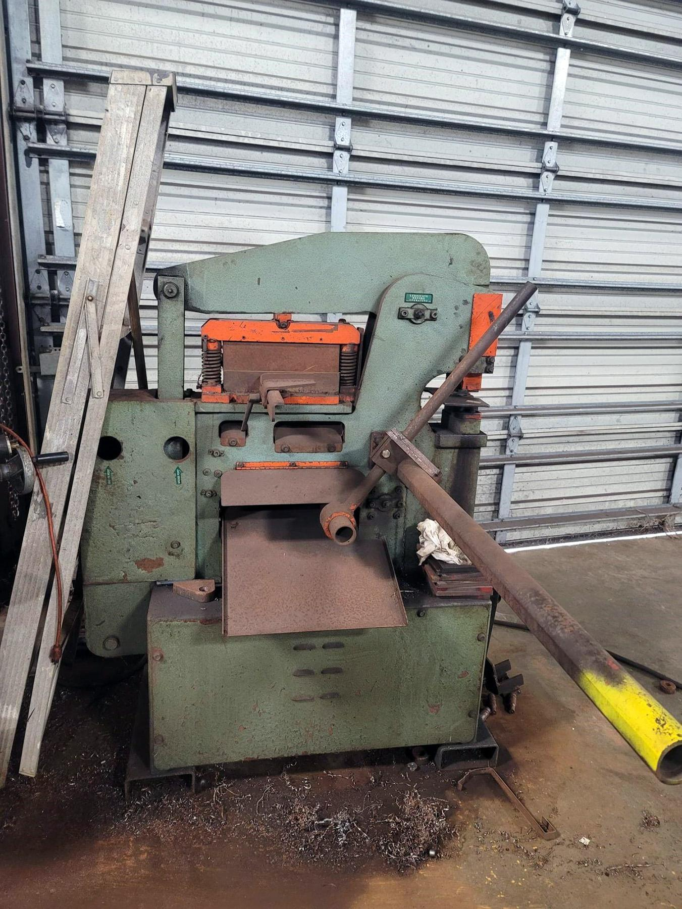 USED, 50 TON SCOTCHMAN MODEL 5014-CM IRONWORKER