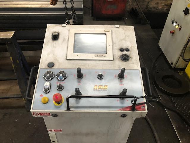 "5/8"" x 6"" x 6"" DAVI Hydraulic CNC Angle Bending Roll, Model MCP 3218"