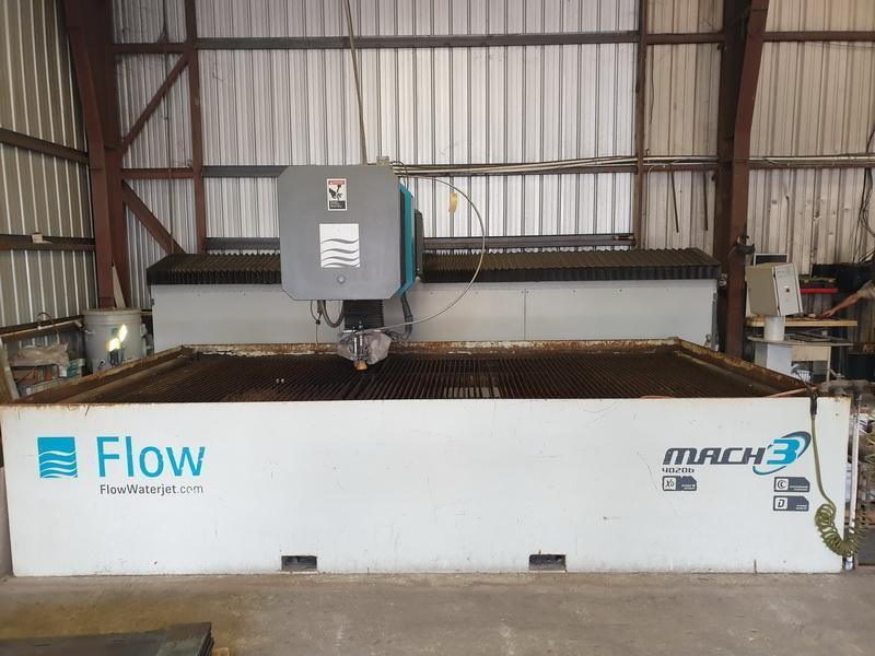 Flow Mach 3 4020b Waterjet Cutting System