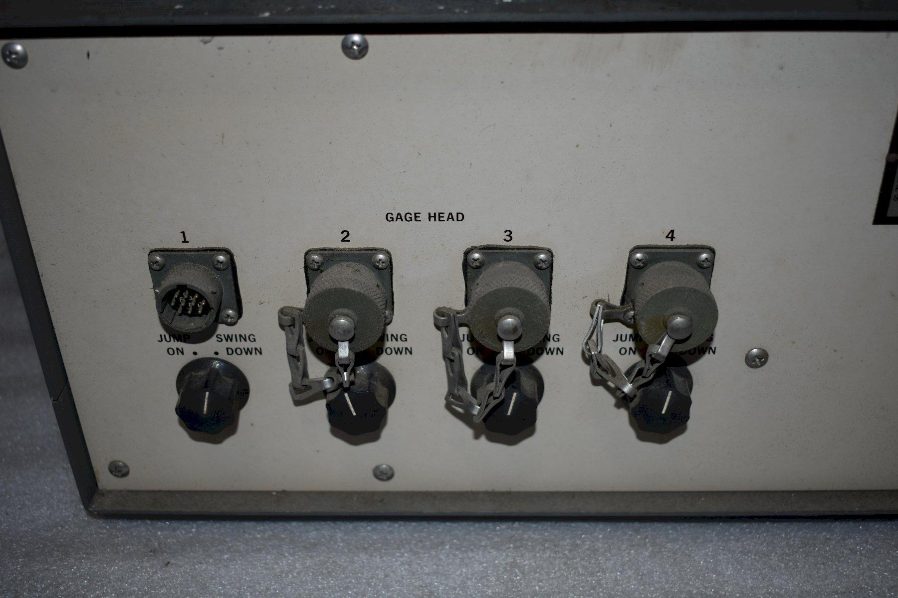Control Gaging Inc Grinding Monitor, Model 801P-310A-44MG, Part # 042106.
