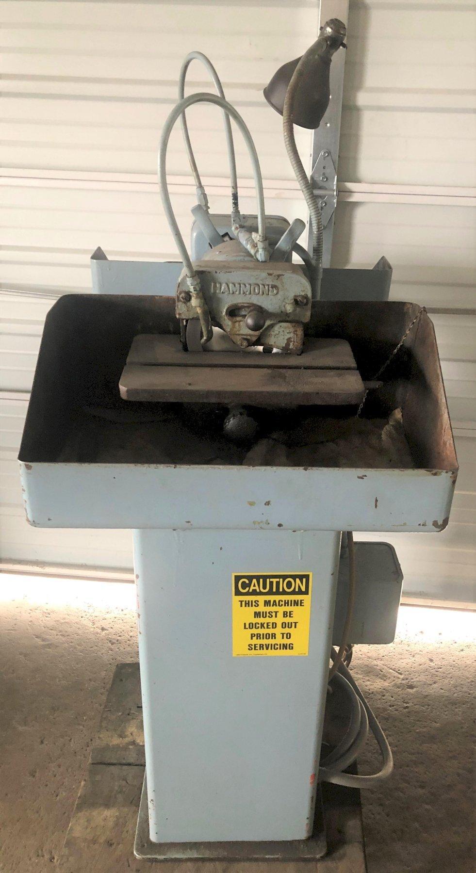 Hammond Carbide Tool Grinder WD-6, 1/2 HP