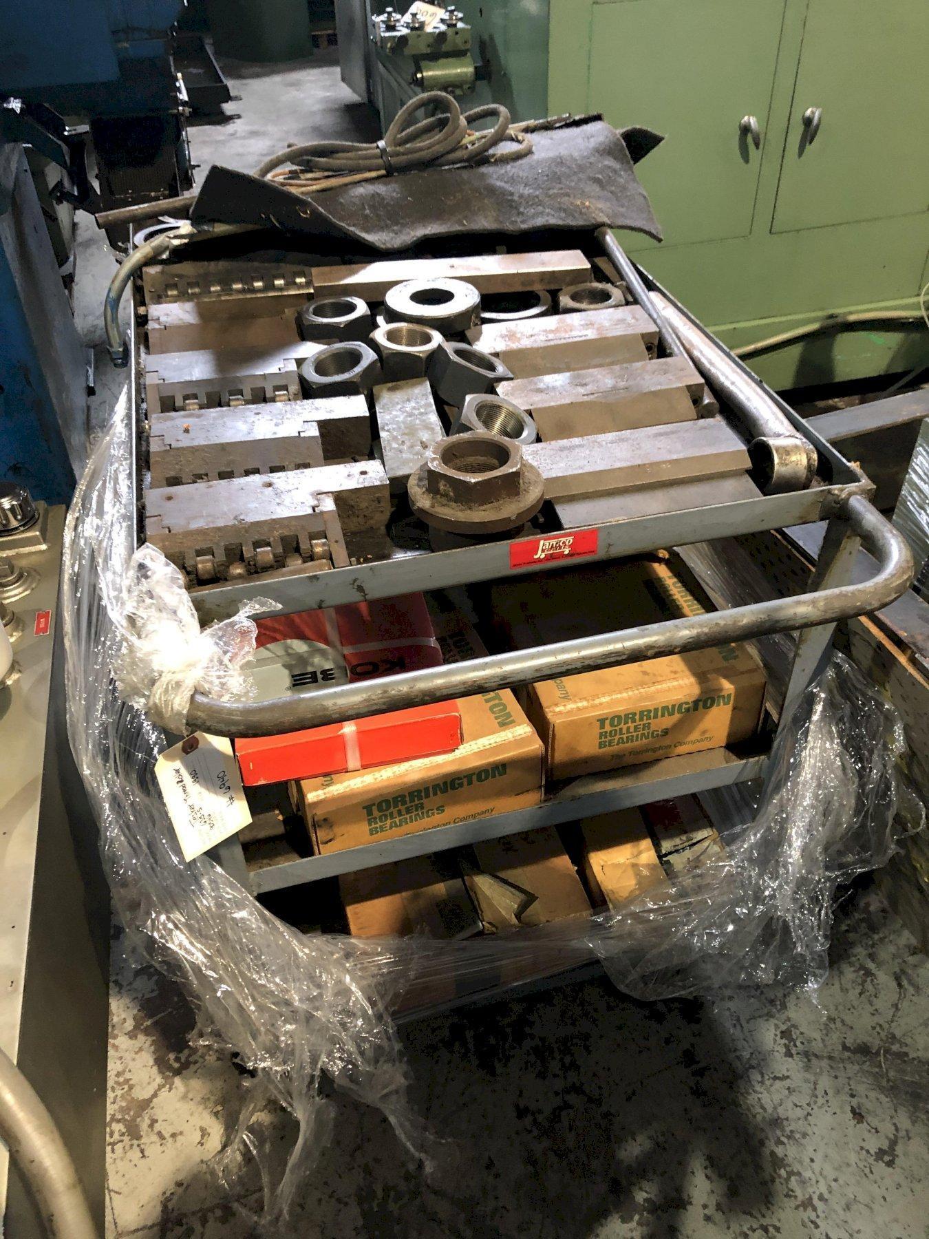 Tesker Model 635-S 80 Ton Thread Roller