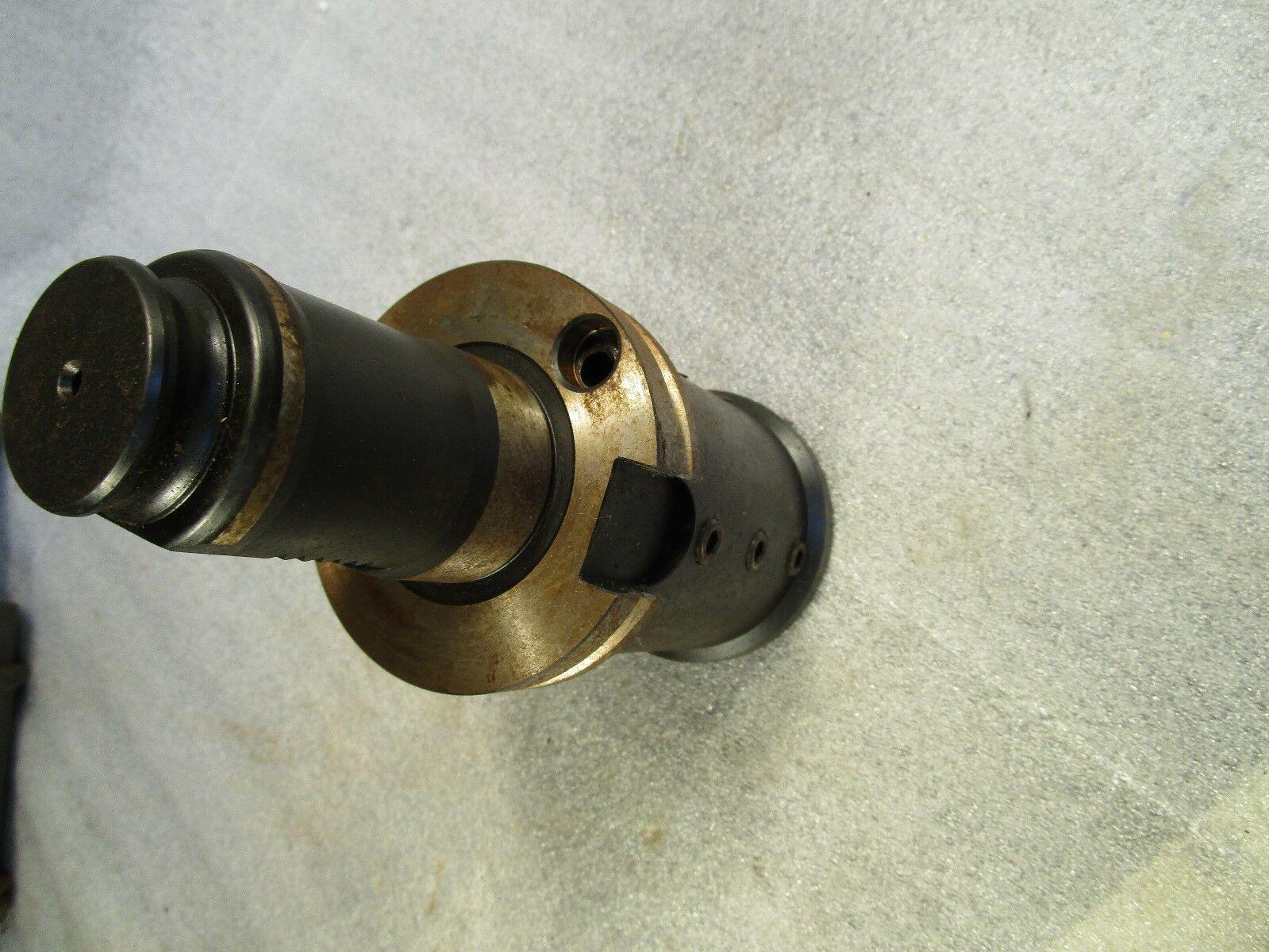 """Mazak Integrex ATC Mill Center Boring Bar Tool Holder 2"""" IDTool Ext Block 18545"""