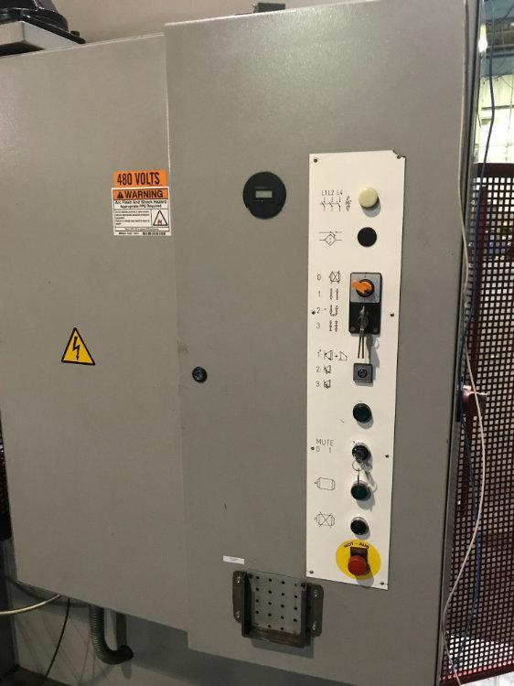 Used EDWARDS / PEARSON 168 TON HYDRAULIC CNC PRESS BRAKE, Model PR4 150/3100, 168 Ton x 10', Stock No. 10475