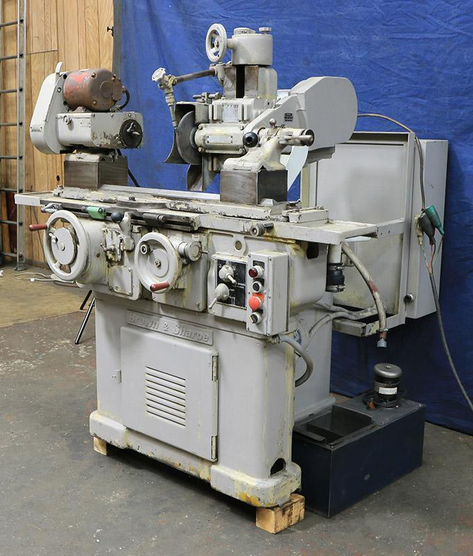 BROWN & SHARPE #13 UNIVERSAL & TOOL GRINDING MACHINE
