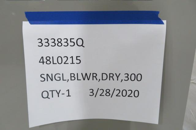 AEC Nearly New NGX300 Material Dryer, Desiccant, Approx 300 lb/hr, 480V, Yr 2018