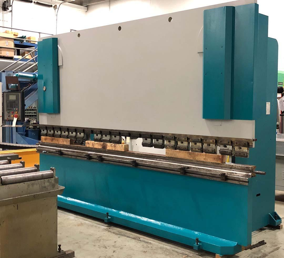 165 Ton x 13' ADIRA QHD15040 Hydraulic Brake Press w/Cyblec DNC 60 CNC Back Gauge, 4 way Die.