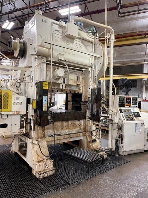 150 ton Minster P2-150-54 Piece-Maker Highspeed Mechanical Press, New 1980