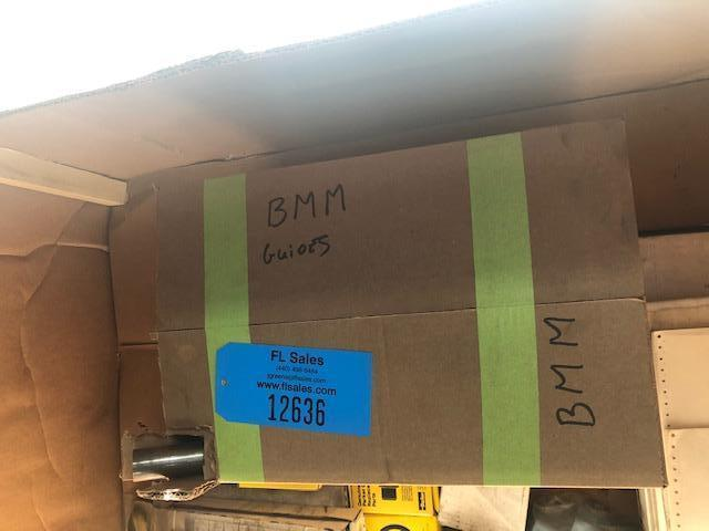 BOX OF BMM QJS222 SPARE PARTS
