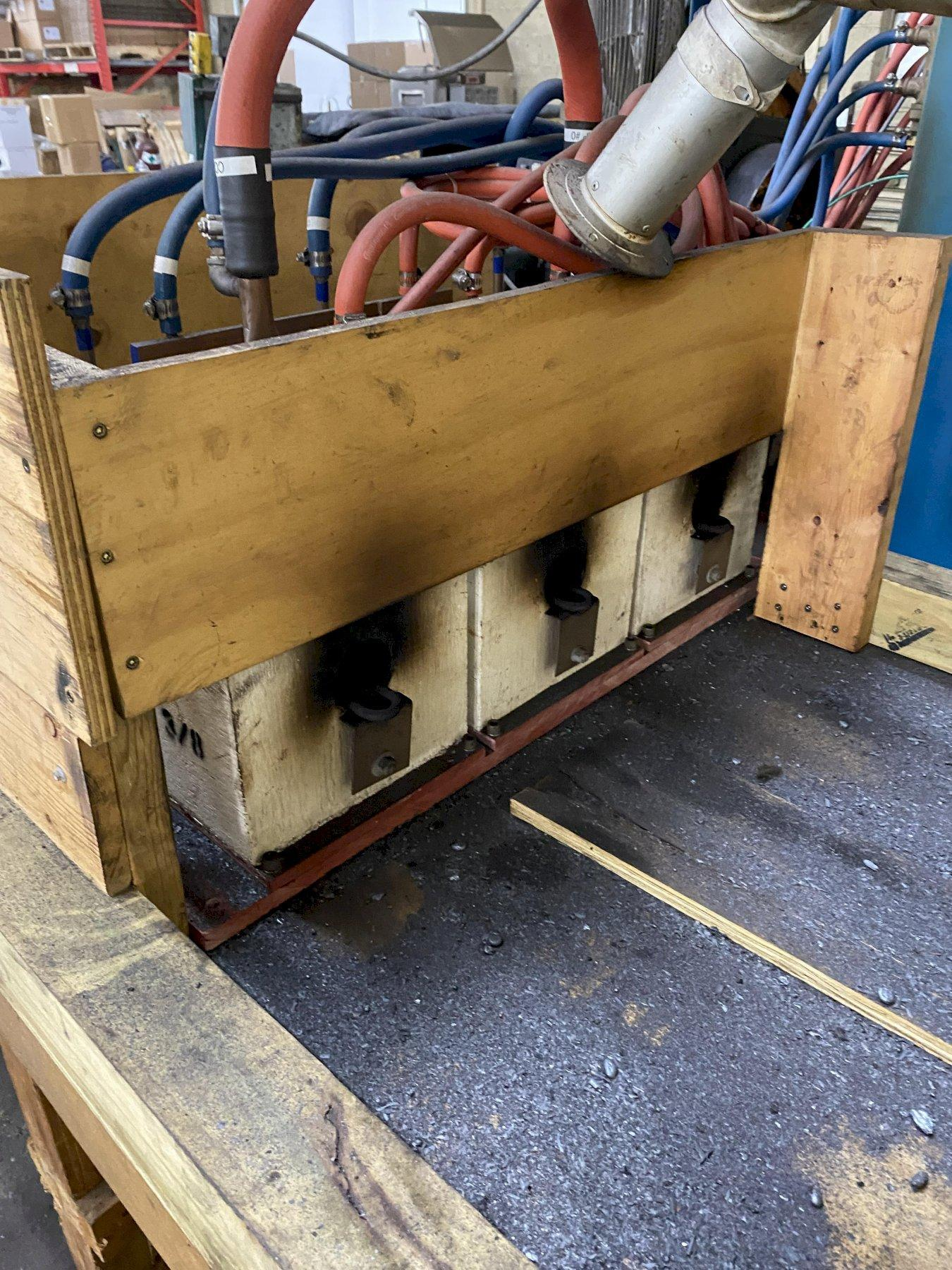 86 KVA AJAX TOCCO MODEL PACER S-10 INDUCTION HEATER & BOXES. STOCK # 0847621