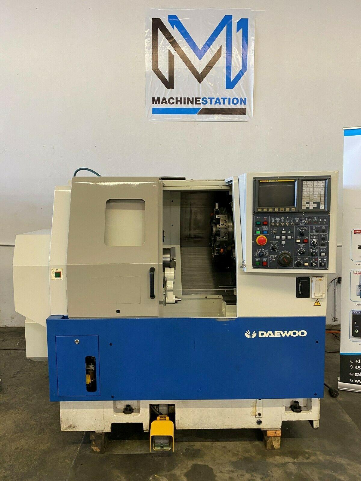 Daewoo Lynx 200 CNC Turning Center