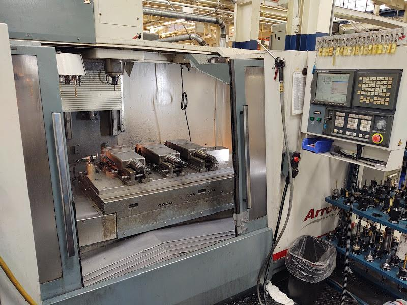 Cincinnati-Milacron Arrow 1250 CNC Vertical Machining Center
