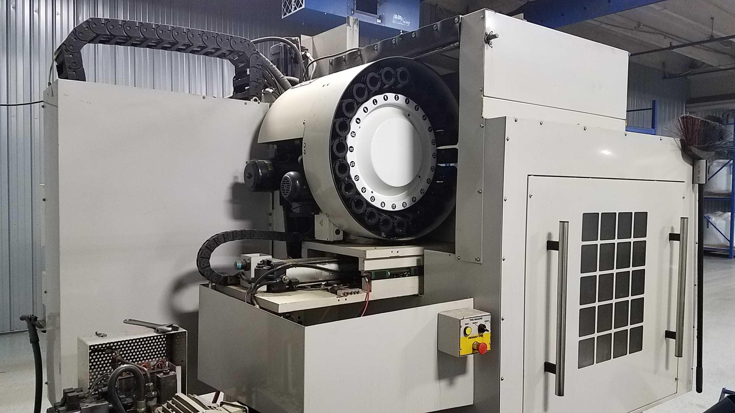 2007 Milltronics HM20 - CNC Horizontal Machining Center