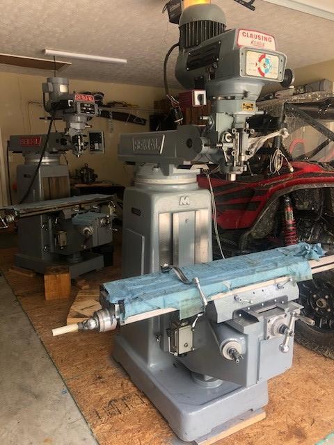 Clausing Kondia / Seiki XL Variable Speed Vertical Milling Machine
