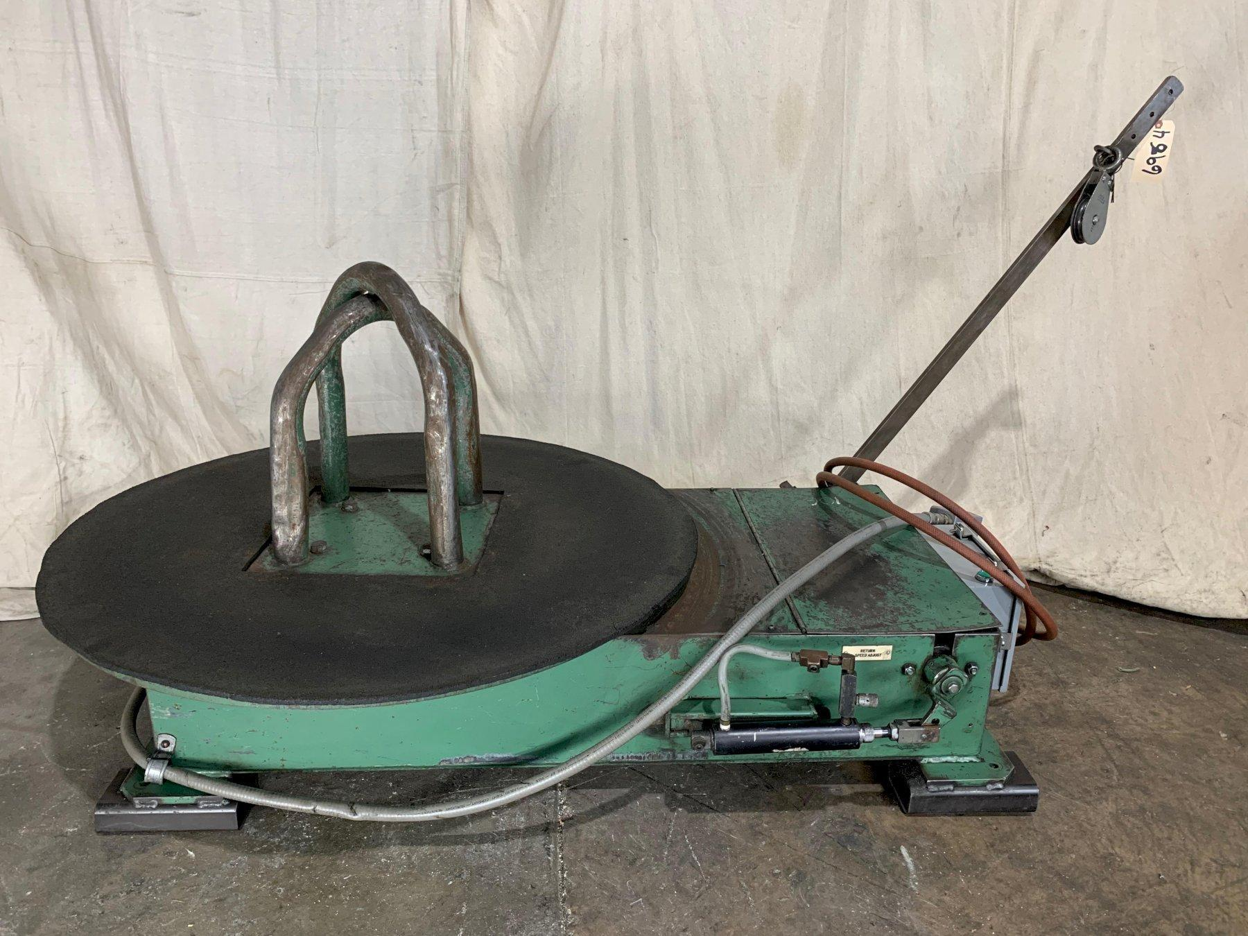 Fastener Engineers DCPT 2500-40 Powered Wire Payoff/Turntable