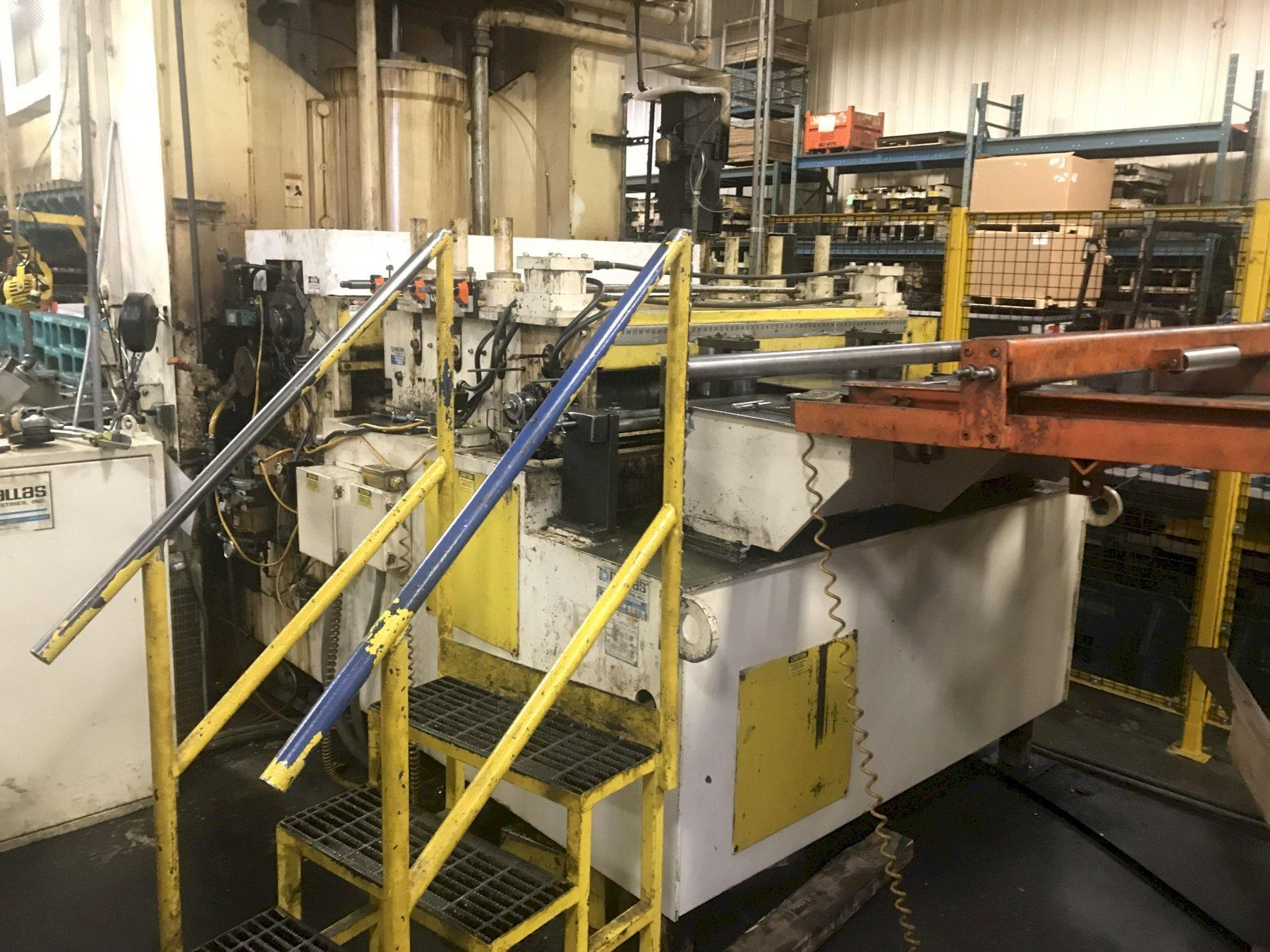 Dallas Ind. Space Saver Coil Feed Line 30,000 Lbs.