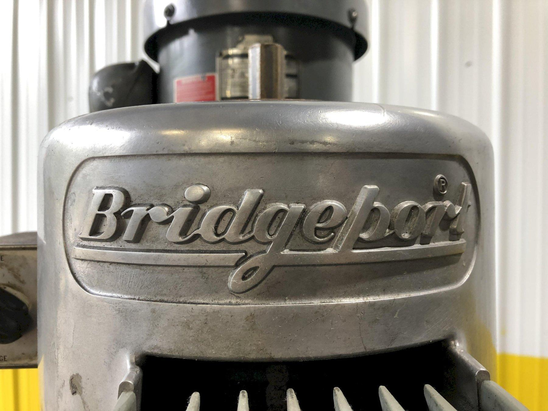 2 HP BRIDGEPORT SERIES I VERTICAL MILL: STOCK #15412