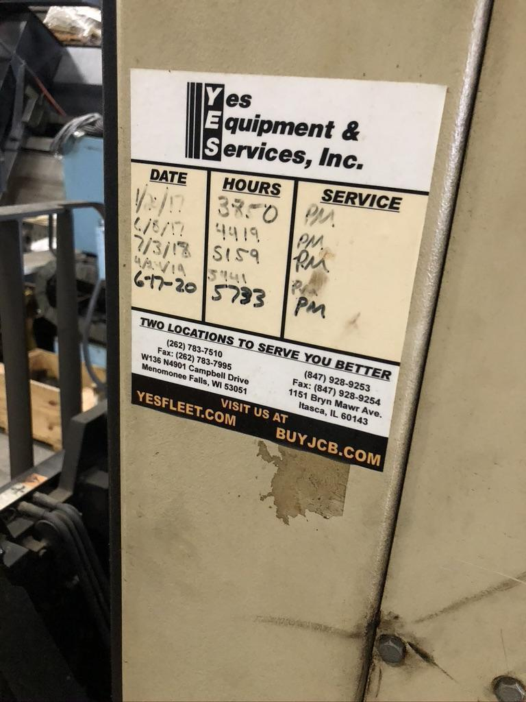 """3500 LB CROWN ELECTRIC STAND UP, MODEL 3510 RR, 240"""" VERTICAL, 24"""" REACH, SIDE SHIFT"""