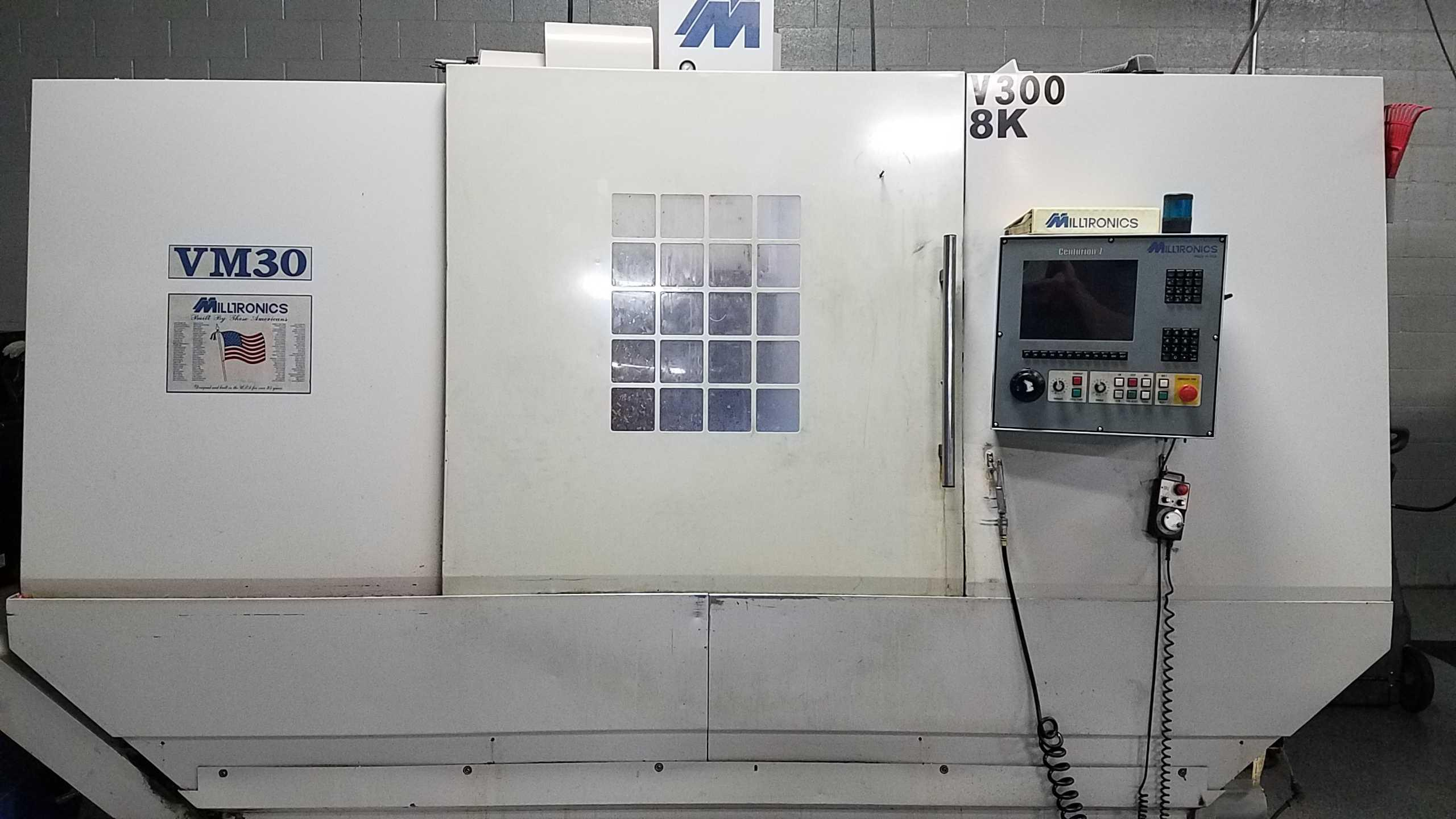 2001 Milltronics VM30 - CNC Vertical Machining Center
