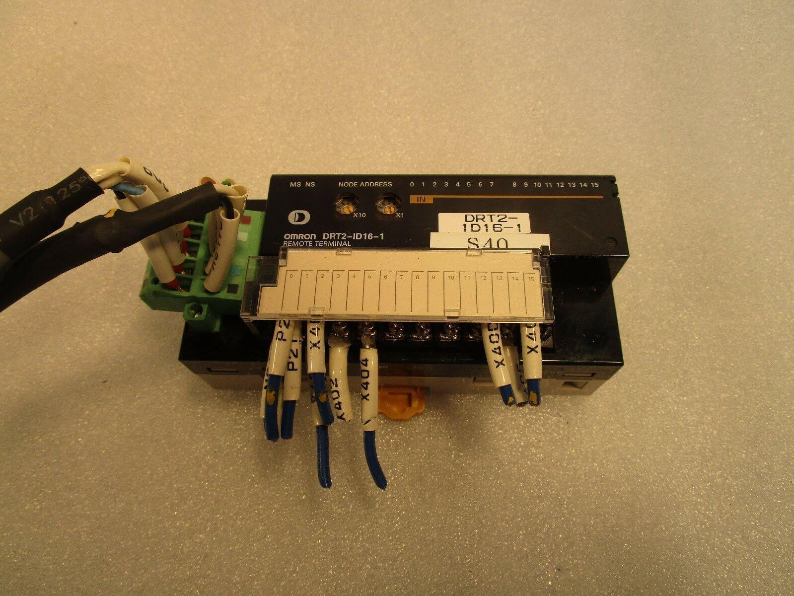 Omron Remote Terminal DRT2-ID16-1