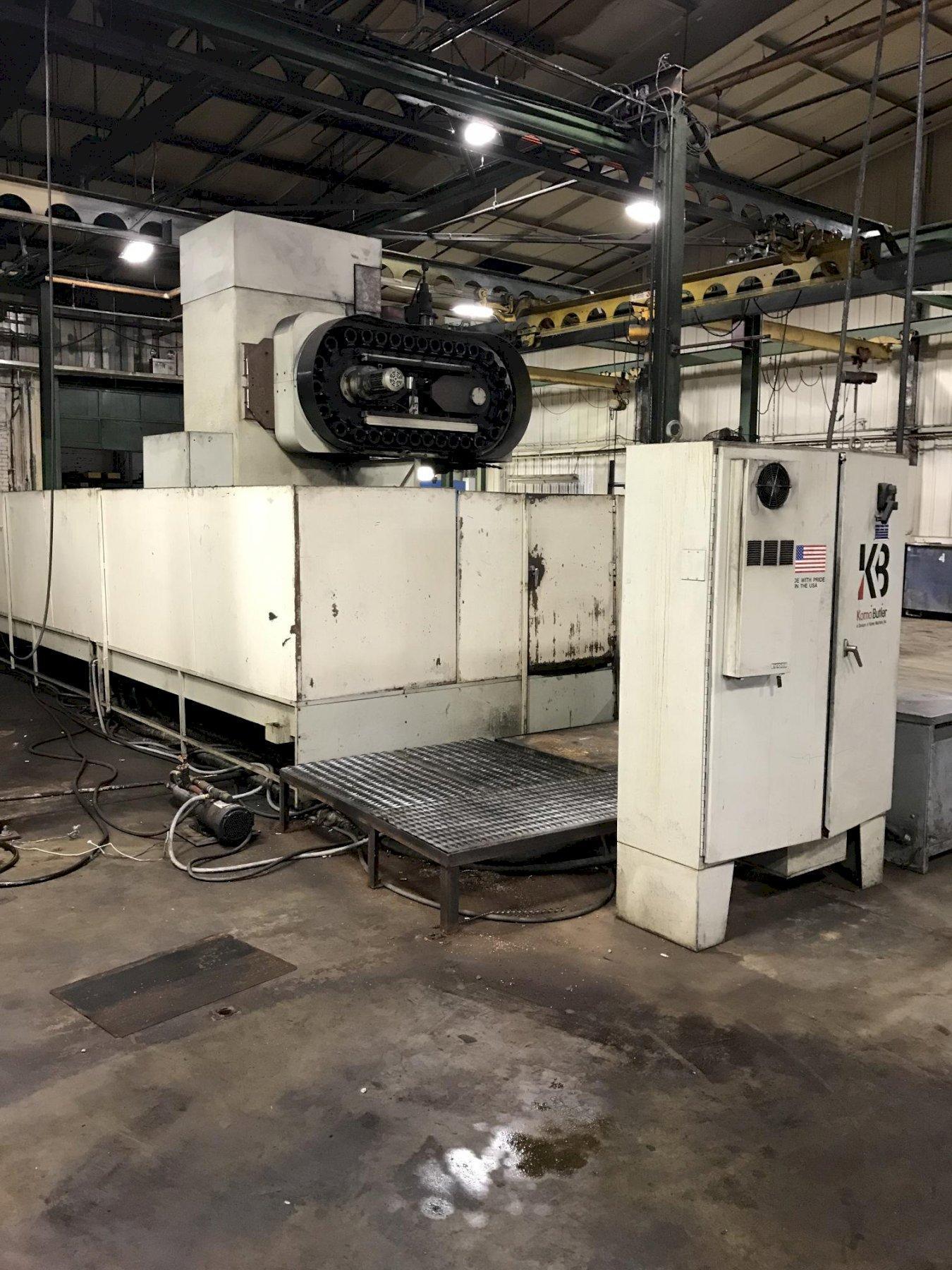 KOMO MOODEL V50 CNC VERTICAL MACHINING CENTER