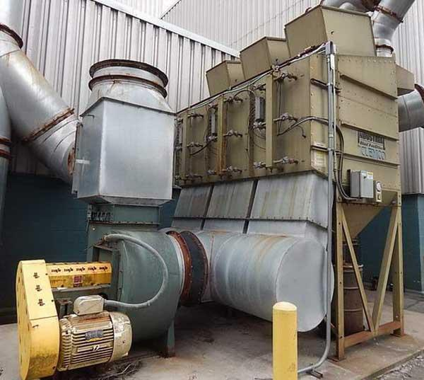 18,000 CFM CLEMCO Dust Collector