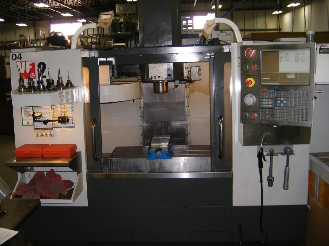 2010 HAAS VF-2 VERTICAL MACHINING CENTER