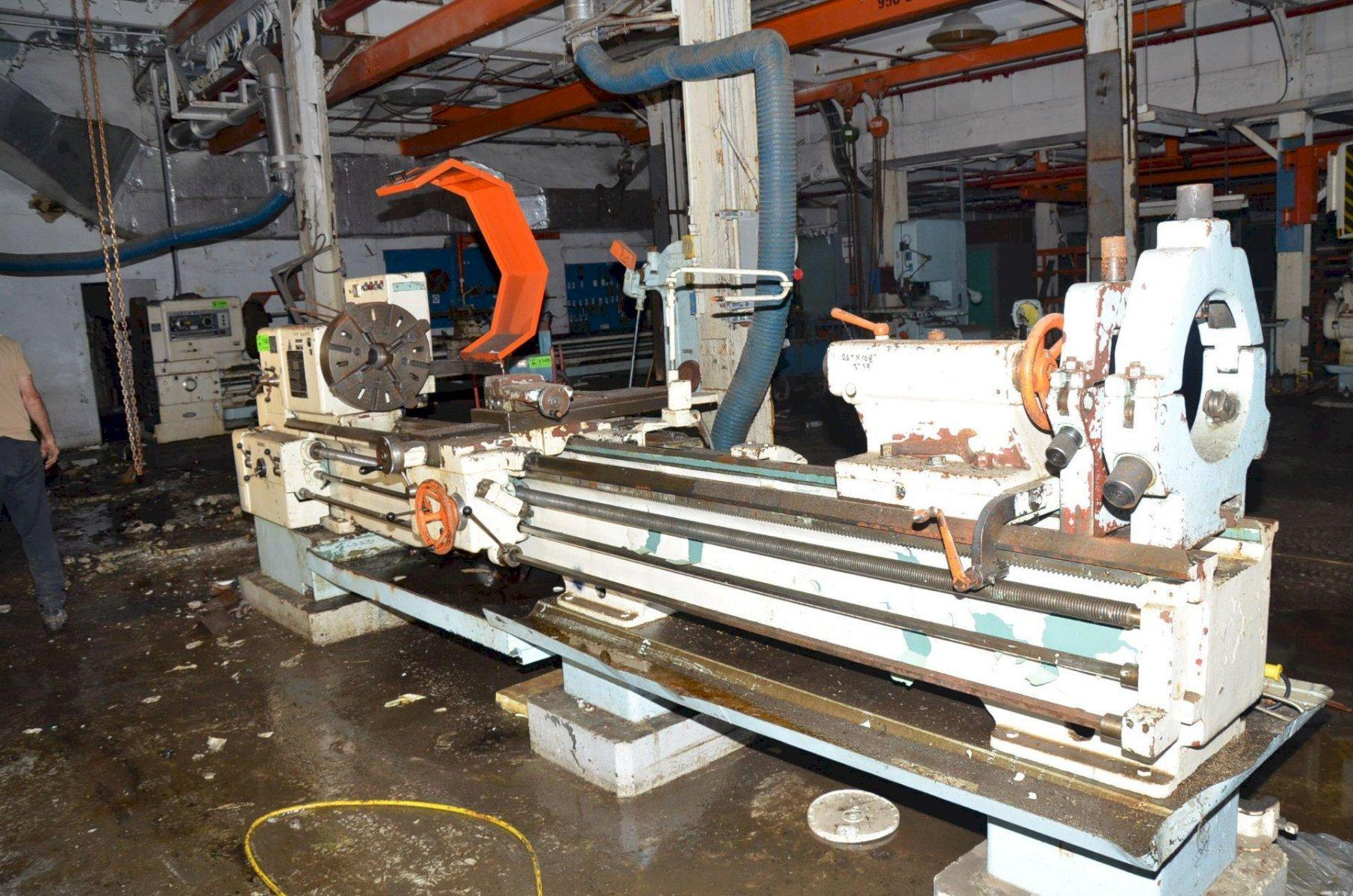 "25"" x 120"" TOS MODEL #SN63B GAP BED ENGINE LATHE: STOCK 13650"