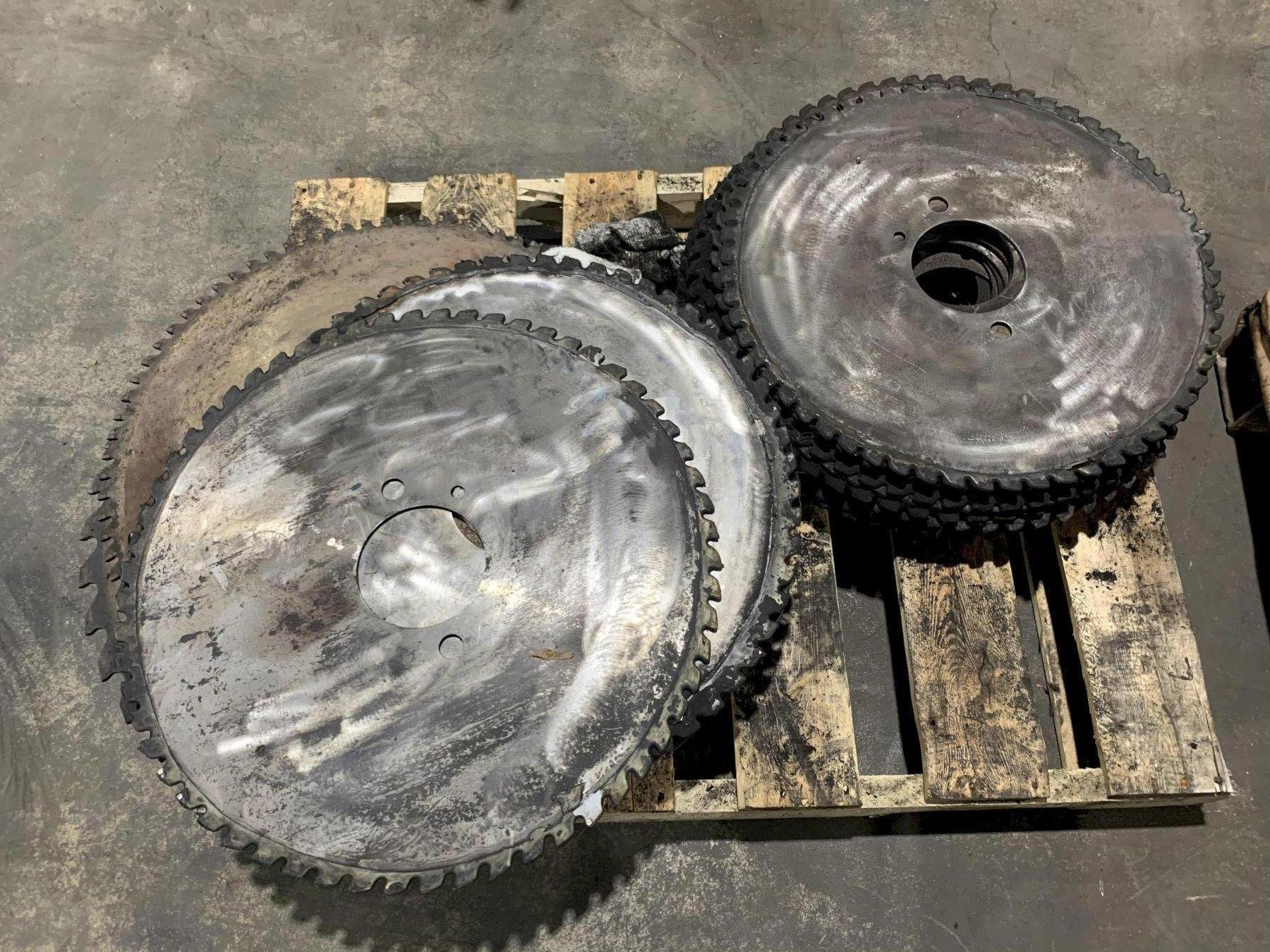 SAW BLADES ASSORTED LOT - STOCK #15334