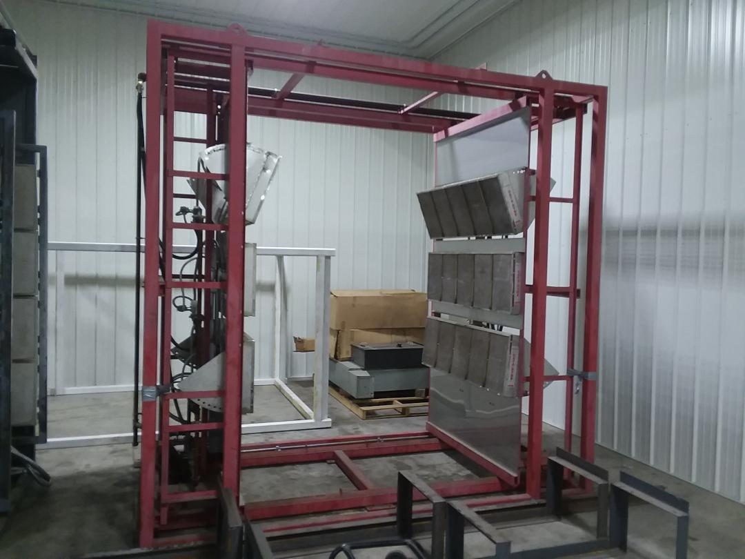 (1) PREOWNED PRECISION FINISHING INFRARED CURING OVEN
