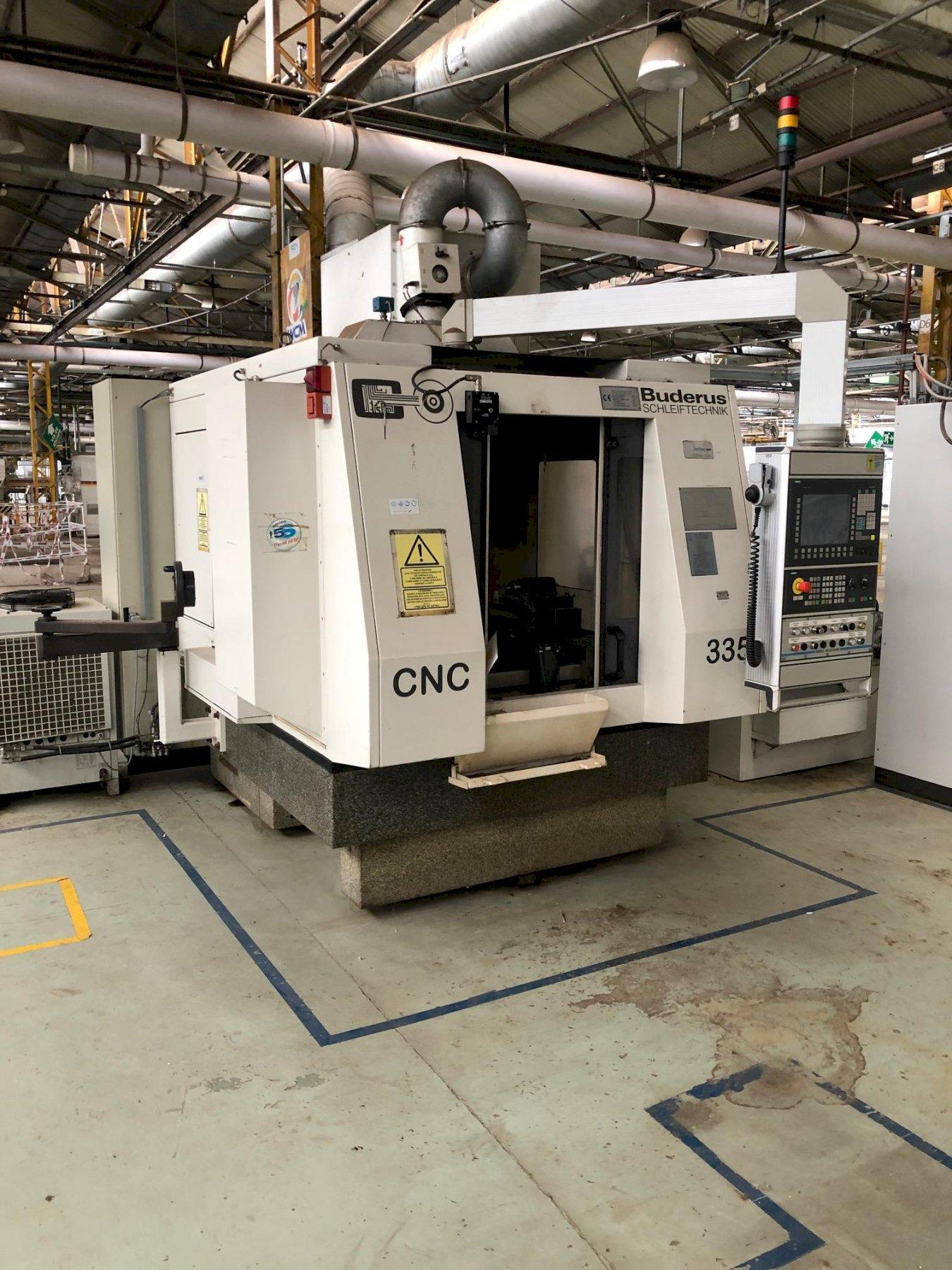 Buderus CNC 635-500 Cylindrical Grinder