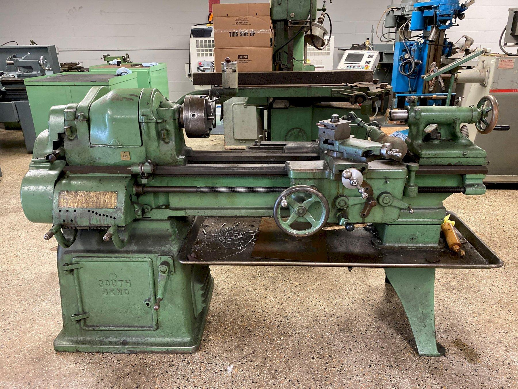 """16"""" x 36"""" South Bend Engine Lathe, S/M 10319HKR13, New 1960, w/Taper"""