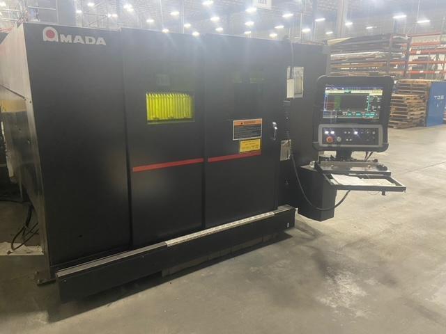 2016 Amada Ensis 3015, 5x10, 2000 Watt Fiber Laser