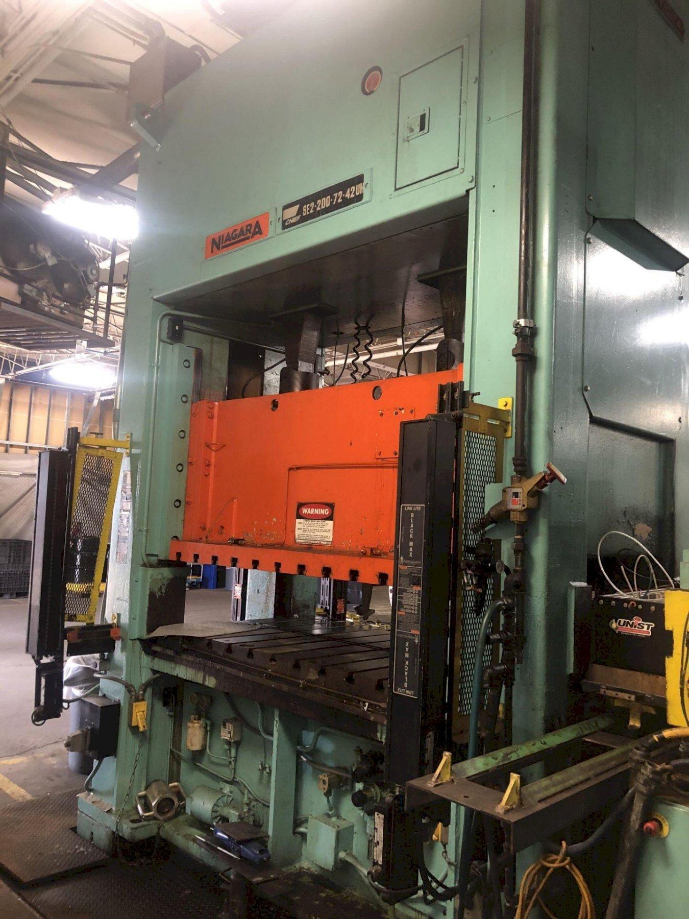 200 ton Clearing Niagara SE2-200-72-42