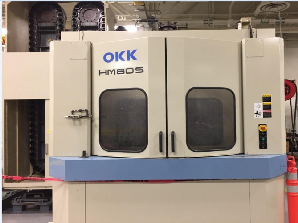 OKK HM80s- CNC Horizontal Machining Center