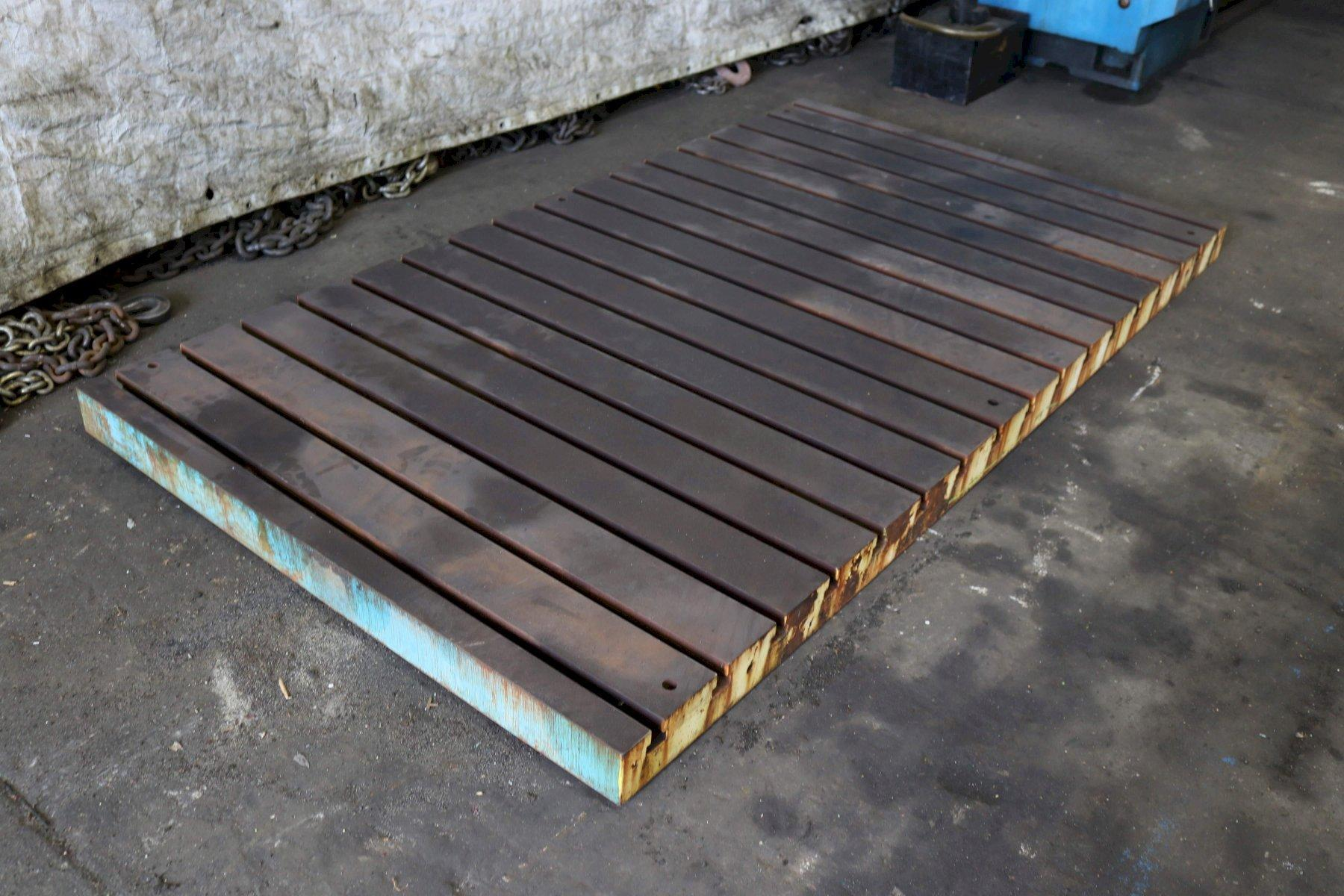 56' X 102' X 4' T SLOTTED BOLSTER PLATE: STOCK #72664